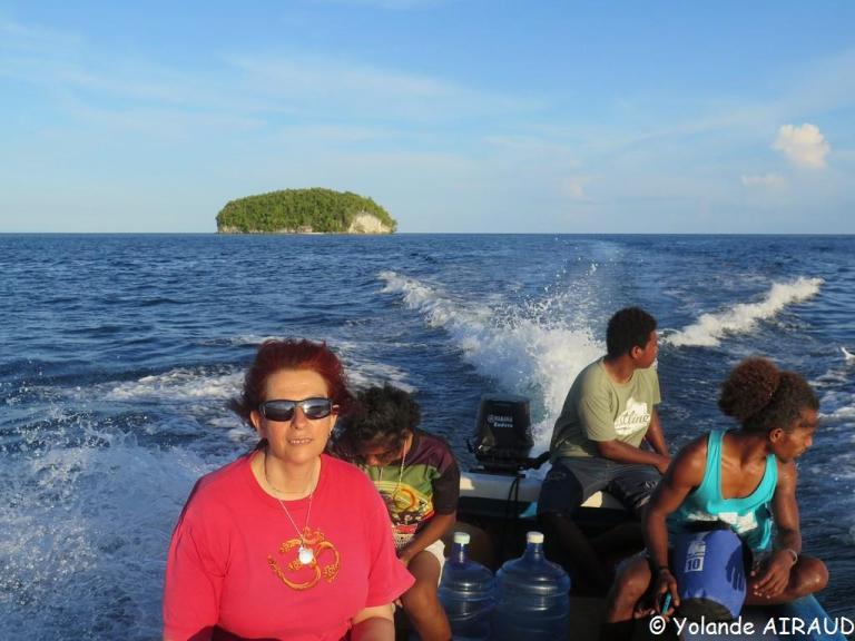 On arrive sur Kri Island