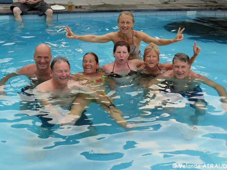 Les Québécois se Déssalent après la plongée
