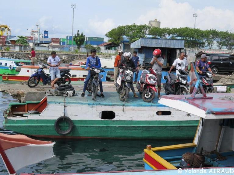 Prêt pour le départ sur l'ile de Lembeh